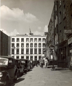 The Hibernian Hotel Before the Extension Was Added: Photograph